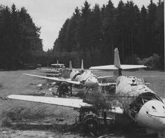 Me-262. Such a shame to see fighters wasteing away.