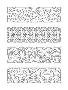 Maori Pattern for carving the Emu egg! Maori Tattoos, Marquesan Tattoos, Borneo Tattoos, Tribal Tattoos, Maori Designs, Waitangi Day, Maori Patterns, Zealand Tattoo, Polynesian Art