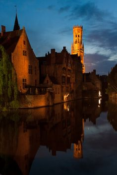 Bruges, Belgium- I just can't get enough of it. It's even more beautiful than the picture portrays.