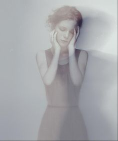 Emotive Portrait Photography by Russian photographer Alexandra Kirievskaya -- Editorial - Pose