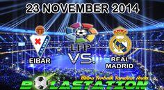 Prediksi Skor Eibar vs Real Madird 23 November 2014