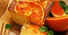 ベーキングパウダーを使わない体に優しいパウンドケーキ✿ 爽やかで甘いオレンジが堪能できるケーキです♡