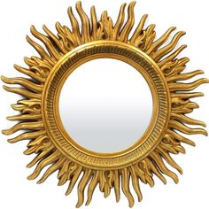 #Spiegel Sunburst Mirror, Aster, Retro, Furniture, Design, Home Decor, Mirrors, Dom, Bohemian