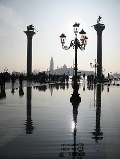 Mirror  Venice  Italy