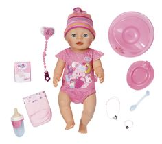 BABY born interactieve pop Meisje