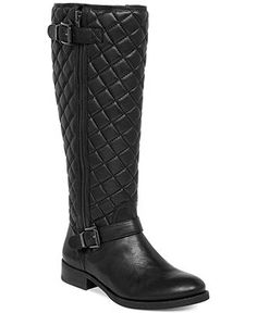 Vince Camuto Fredrica Tall Wide Calf Riding Boots - Wide Calf Boots - Shoes - Macy's
