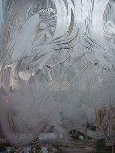 Viktor Fucek: Memmories, Painting on window, Rome, 2012 Grey Art, Rome, Artworks, Window, Abstract, Painting, Beautiful, Art Pieces, Windows