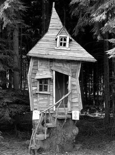 There was a crooked man, who lived in a crooked house....