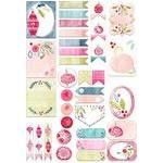 watercolor christmas ornament planner stickers