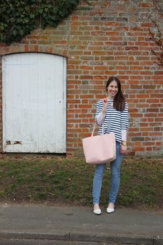 Gap Denim, Old Navy Bag, Madewell Shoes