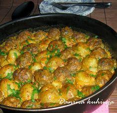 Danina kuhinja: Ćufte s mladim krumpirom iz pećnice