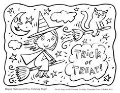 printable coloring page for halloween of a skeleton in a ...
