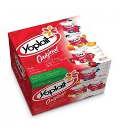Yoplait Yogurt Orignial