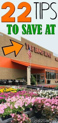 If you're planning a home renovation or just like DIY projects, check out these 22 money-saving tips for The Home Depot!