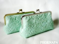 Give Me Some Mint Clutch on Etsy, $40.00