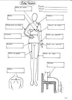 Ficha Técnica da Cliente   molde, corte e costura – Marlene Mukai