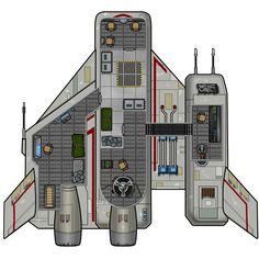 Muurian Transport  (Deck Plan)