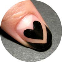 Heart nail from Nailside