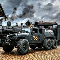 Custom Jeep, Custom Trucks, Custom Cars, Custom Wheels, 6x6 Truck, Jeep Truck, Wrangler Truck, Jeep Wrangler Accessories, Jeep Accessories