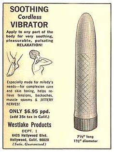 Vintage vibrator ad reproduced on metal sign humorous decor Funny Vintage Ads, Vintage Humor, Vintage Posters, Funny Ads, Vintage Stuff, Vintage Toys, Retro Vintage, Retro Advertising, Retro Ads