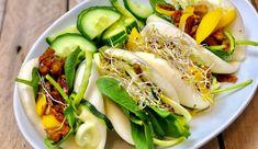 Bao buns met ketjap, mango, wasabi & meer - Gewoon wat een studentje 's avonds eet