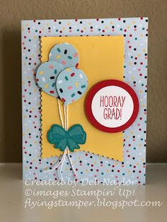 The Flying Stamper:March 2019 Paper Pumpkin - Graduation Stampin Up Paper Pumpkin, Pumpkin Cards, Stamping Up Cards, Graduation Cards, Congratulations Card, Card Sketches, Homemade Cards, Birthday Cards, Birthday Ideas