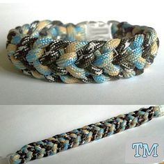 Starlit Shores Paracord Bracelet by ThrowinWristicuffs on Etsy, $7.00