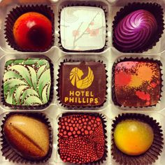Artisanal chocolates made by Christopher Elbow for Kansas City's Hotel Phillips. Is your mouth watering yet? #chocolate #kansascity #yummy