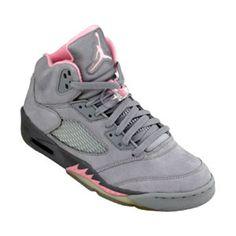 8994698fa23 Nike Jordan Retro 5 - Pink grey Popular Sneakers