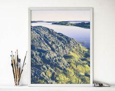 Ocean Photograph  Pastel Blue Art  Seascape  Nature by joystclaire