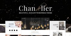 Chandelier - A Theme Designed for Custom Brands by Elated-Themes  Theme Features Easy to use ¨C no coding knowledge required Powerful Admin Panel Import demo site with One-Click Responsive and Ret