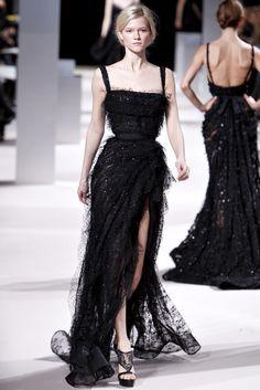 Elie Saab Spring 2011 Couture Fashion Show - Kasia Struss (Women)