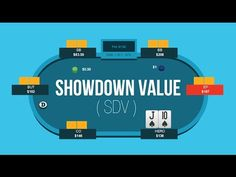 Learn the difference between value and showdown value (SDV) so you can correctly classify your hand postflop and choose the optimal line on the tables. Get Rich Quick Schemes, Poker Night, Video Poker, Managing Your Money, Casino Games, How To Get Rich, Online Casino, Revenge, Tables