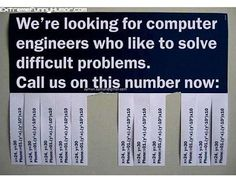Clever Job Advert (But this problem isn't difficult enough - sincerely, nerd) Job Advertisement, Job Ads, Math Humor, Nerd Humor, Math Jokes, Funny Math, Nerd Jokes, Math Math, Math Class