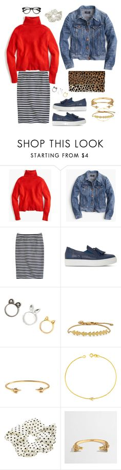 """""""JL....ishy"""" by strawberryplums ❤ liked on Polyvore featuring J.Crew, Dune Black, Clare V., Madewell, Maya Brenner and Accessorize"""