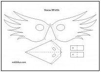 маска на врана