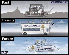 Real Madrid will never stop winning. Real Madrid, Football Jokes, Football Highlight, English Premier League, World Cup 2018, Champions League, Cartoons, France, Highlights