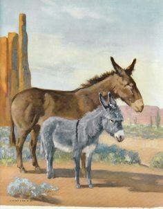 Mule & Donkey - Wesely Dennis