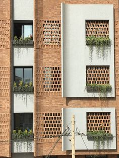 Gallery of apartment No. 84 / MiriStudio – 4 Gallery of apartment No. 84 / MiriStudio – + Design apartment No. Architecture Design, Architecture Restaurant, Modern Architecture House, Residential Architecture, Brick Design, Facade Design, Exterior Design, House Design, Building Facade