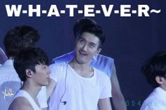 #siwon derping <-and still incredibly handsome