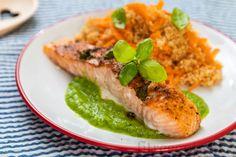 Fitness recepty s vysokým obsahom bielkovín Tofu, Quinoa, Smoothie, Good Food, Food And Drink, Lunch, Vegan, Chicken, Ethnic Recipes