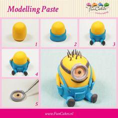 FunCakes_modelleer_figuur_Minion