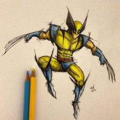 Wolverine | Beautiful Sketches