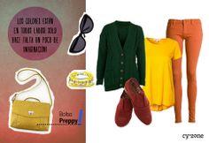 #PrimerasVecesbyCyzone - Combino muchos colores en un outfit