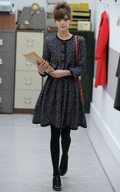 Secretary style at Orla Kiely