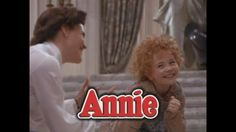 Annie! One of my favorites from the 80's. Can't believe 30 years ago!