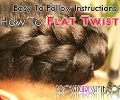 Have you every wanted to learn how to flat twist? This easy to follow tutorial will teach you how to do it in less than 3 minutes! It will take some practice, but in no time, using my method, you will be able to flat twist like a pro!My goal is to teach Mom's how to care for their daughter's hair. I INSPIRE Mom's to be CREATIVE with hair time making her hair styles that are easy, fun, and unique! Each session should be fun for both Mom and Daughter! When hair time is done, she can...