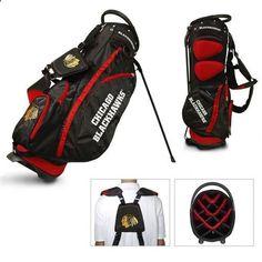 Golf Bags - Chicago Blackhawks Standup Golf Bag - Golf Stand Bag