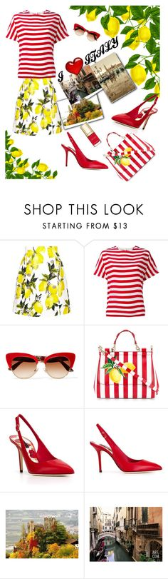 """""""Untitled #704"""" by lisa-gache ❤ liked on Polyvore featuring Dolce&Gabbana"""