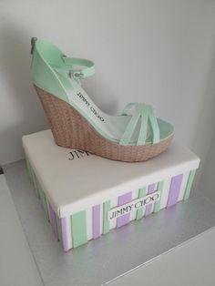 -  #shoe #box #cake